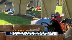 Temporary fix to help all homeless people living in Milwaukee's Tent City [Video]
