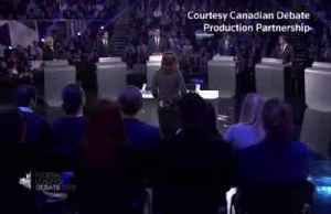 Canada's Trudeau takes the heat in election debate [Video]