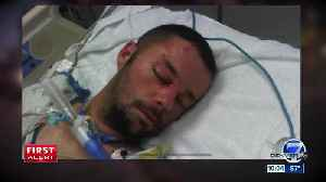 Denver man nearly killed by driver is on the road to recovery [Video]