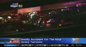 1 Dead In Truck Crash On NJ Turnpike [Video]