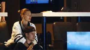 Hailey Bieber fires back at banana video critic [Video]