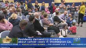 Washington Co. Residents Demanding Answers About Cancer Cases [Video]