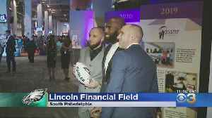 Malcolm Jenkins Holds Annual 'Blitz, Bowties And Bourbon' Charity Event [Video]
