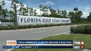 FGCU creating a Climate Change Coalition [Video]