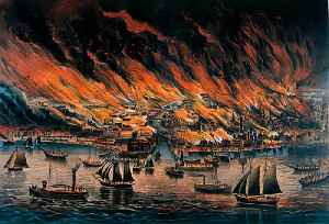 This Day in History: The Great Chicago Fire Begins [Video]