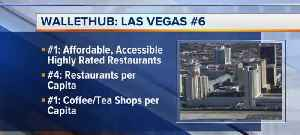 Vegas ranked No. 6 for foodies [Video]