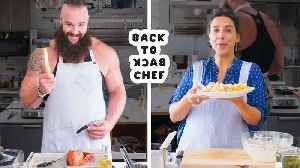 WWE Superstar Braun Strowman Tries to Keep Up with a Professional Chef [Video]