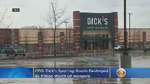 CEO: Dick's Sporting Goods Destroys $5 Million Worth Of Weapons [Video]