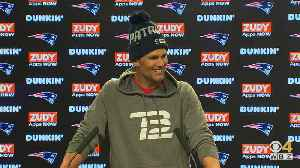 Tom Brady Talkin' About Practice [Video]