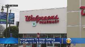 Walgreens To Stop Selling E-Cigarettes In Its 9,500 US Stores [Video]