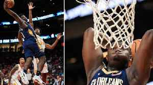 News video: Zion Williamson's NBA Debut Turned Into All Out DUNK Fest As New Look Pelicans TERRORIZE NBA!