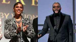 Beyoncé Gets Emotional At Tyler Perry's New Studios [Video]