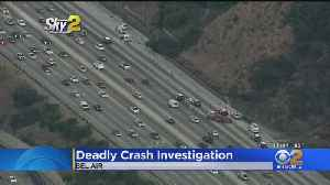 Man Killed, Woman Injured In 405 Freeway Crash [Video]
