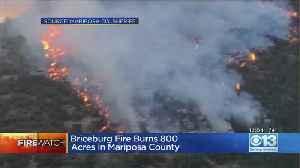 Briceburg Fire Blocks Highway 140 Entrance To Yosemite [Video]