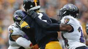 Ravens' Harbaugh on safety Earl Thomas hit on Mason Rudolph [Video]