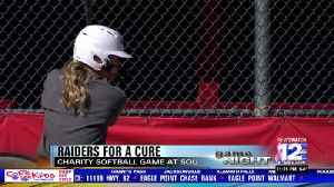 Raiders softball remembers a teammate's father through charity softball game [Video]
