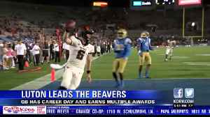 Jake Luton has career-day, earns multiple awards in 48-31 win [Video]