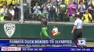 Former Oregon softball player makes 2020 Olympic team [Video]