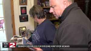 Search for Hartwick woman [Video]
