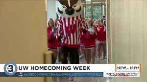 UW Homecoming Week works to excite people for upcoming Wisconsin Badgers football game [Video]