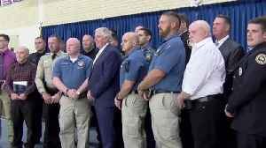 Several area public safety officers honored by governor [Video]
