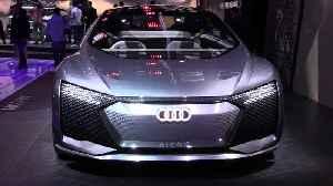 Audi AICON at 2019 IAA [Video]