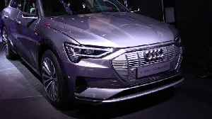 Audi e-tron 55 quattro at 2019 IAA [Video]