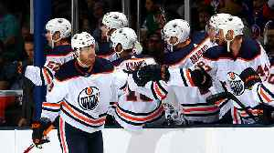 James Neal scores four goals for Edmonton Oilers [Video]