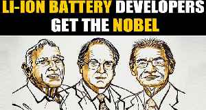 Nobel prize in chemistry for development of Lithium ion batteries | OneIndia News [Video]