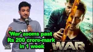 'War' zooms past Rs 200 crore-mark in 1 week [Video]