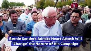 Bernie Sanders Admits Heart Attack Will 'Change' the Nature of His Campaign [Video]