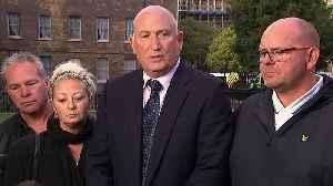 News video: Dunn family say Raab meeting felt like 'publicity stunt'