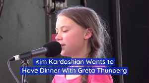 A Dinner With Greta Thunberg And Kim Kardashian [Video]