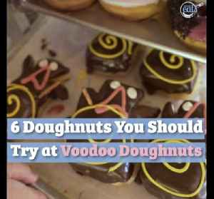 6 Doughnuts You Should Try At Voodoo Doughnuts [Video]