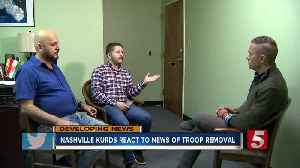 Nashville Kurdish community, largest in the US, sees Syria troop withdrawal as betrayal [Video]