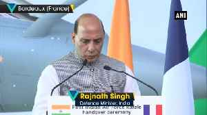 Historic day for Indian forces, says Rajnath Singh at Rafale fighter handing over ceremony [Video]