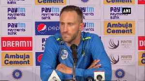 Ind vs SA Proteas skipper Faf du Plessis hails Shami's bowling [Video]