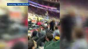 News video: Fan Says He Was Ejected From Sixers' Exhibition Because Of Pro Hong Kong Signs
