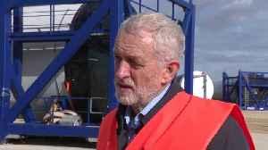 News video: Jeremy Corbyn: Boris Johnson is heading for no-deal Brexit