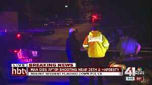 News video: KCPD investigating deadly shooting near 25th, Hardesty