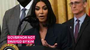 News video: Kim Kardashian West won't be able to get Brendan Dassey early release