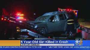 Girl, 5, Killed In Possible DUI Crash In Lake Los Angeles [Video]