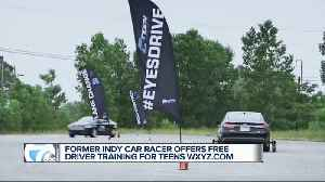 Former Indy car racer offers free driver training for teens [Video]