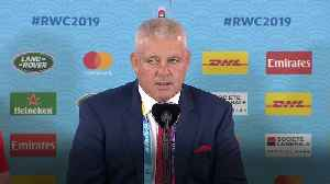 Wales 29-17 Fiji: Gatland admits to 'sore bodies' after bruising win [Video]