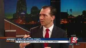 MorningLine: Is Gun Violence a Public Health Crisis? P.3 [Video]
