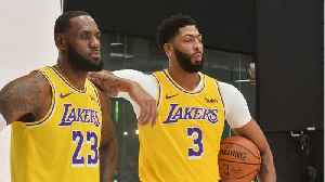 LeBron James Gives Anthony Davis His Number 23 For The Los Angeles Lakers [Video]