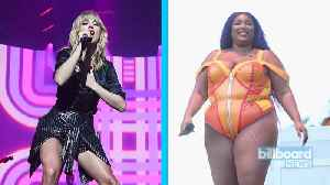 Taylor Swift Fans & Lizzo Fans Unite for #StreamTruthHurts Campaign | Billboard News [Video]