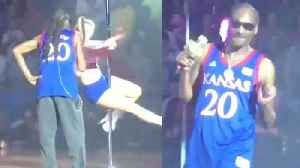 News video: Snoop Dogg Defends Having Strippers At His KU Performance