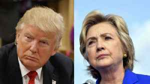 News video: Trump Trolls Hillary Clinton, Says She Should Run in 2020