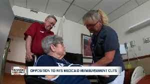 Opposition to NYS Medicaid reimbursement cuts [Video]